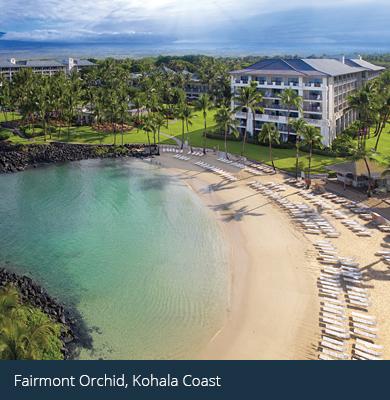 client hotel - Fairmont Orchid