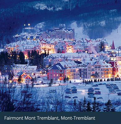 client hotel - Fairmont Mont Tremblant